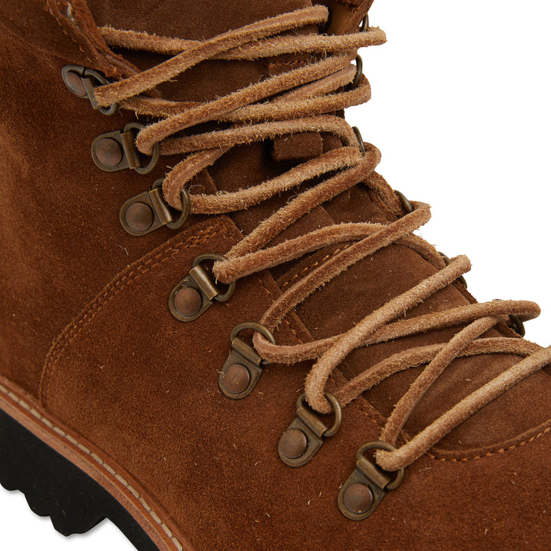 Cape cognac suede winter boots for men 2