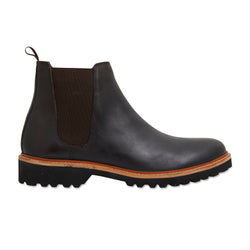 Cortez chocolate leather men boots