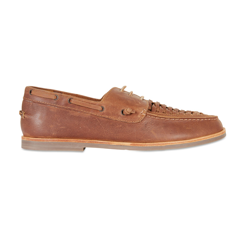 Costa mocha laceup leather men shoes