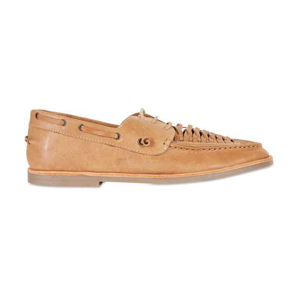 Costa tan laceup leather men shoes