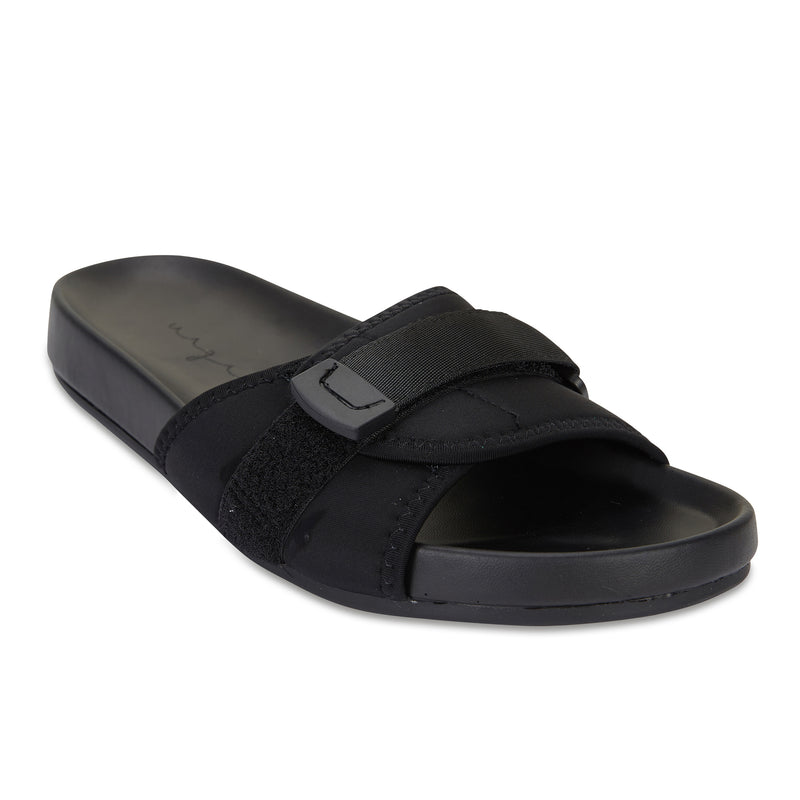 Kyoto black pool slide for women 1