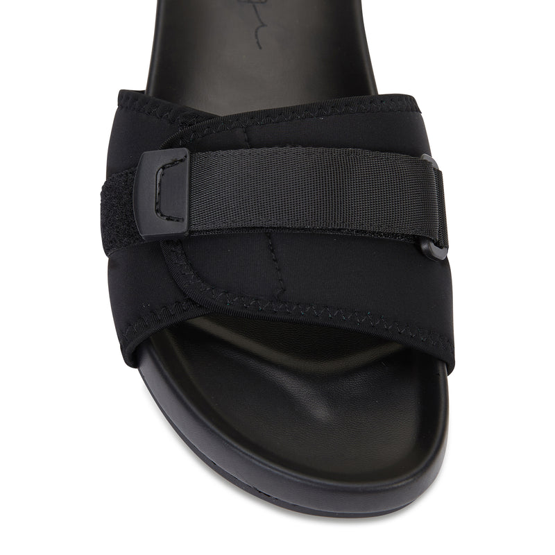 Kyoto black pool slide for women 2
