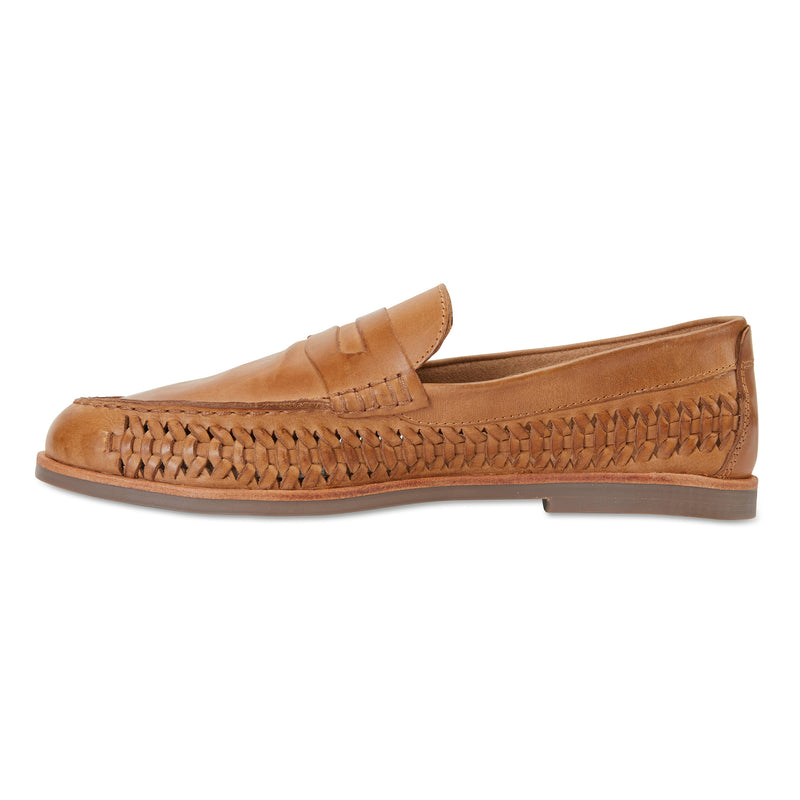 Marakesh tan leather slip on shoes for men 3