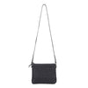 MIRO WOVEN BAG - BLACK LEATHER