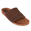 PALMA - CHOC MILLED LEATHER