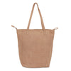 MAYA LARGE SHOPPING TOTE - PUTTY LEATHER