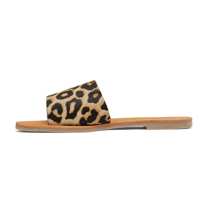 stella leopard print leather slides for women 3