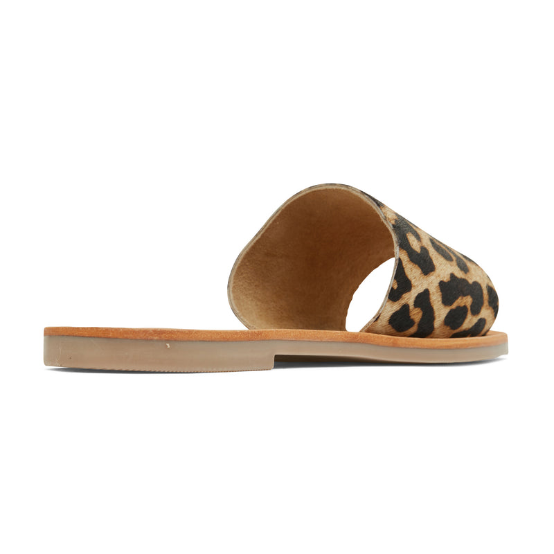 stella leopard print leather slides for women 4