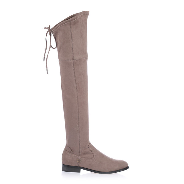 TANIA - STONE KNEE HIGH BOOT