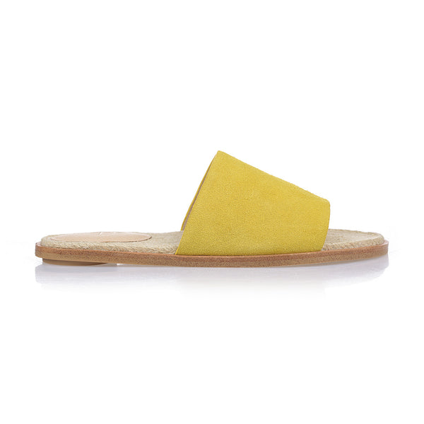 HEIDI - YELLOW SUEDE