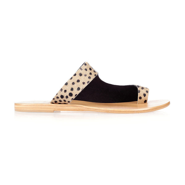 JOJO - CHEETAH LEATHER SANDAL