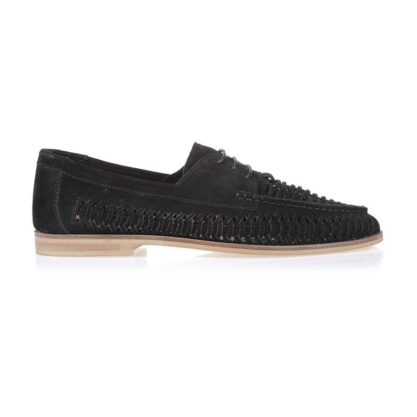 ANCHOR - BLACK SUEDE