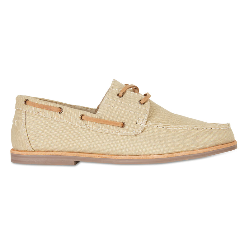 Billy sand canvas boat shoes for men