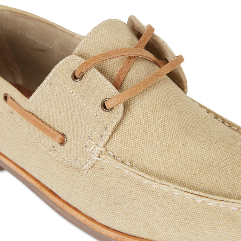 Billy sand canvas boat shoes for men 3