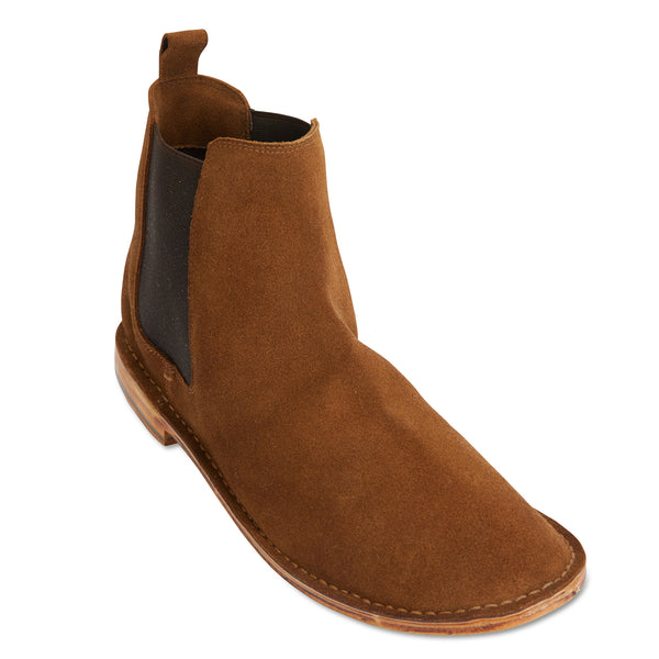 Bawley tan suede men boots 1