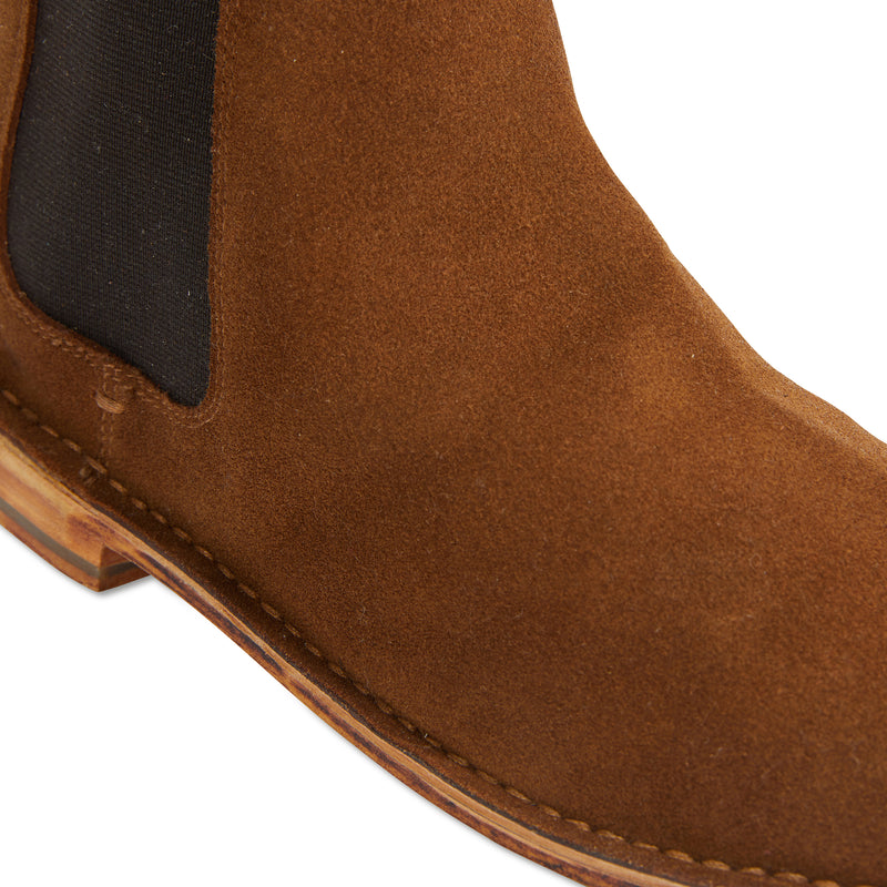 Bawley tan suede men boots 3