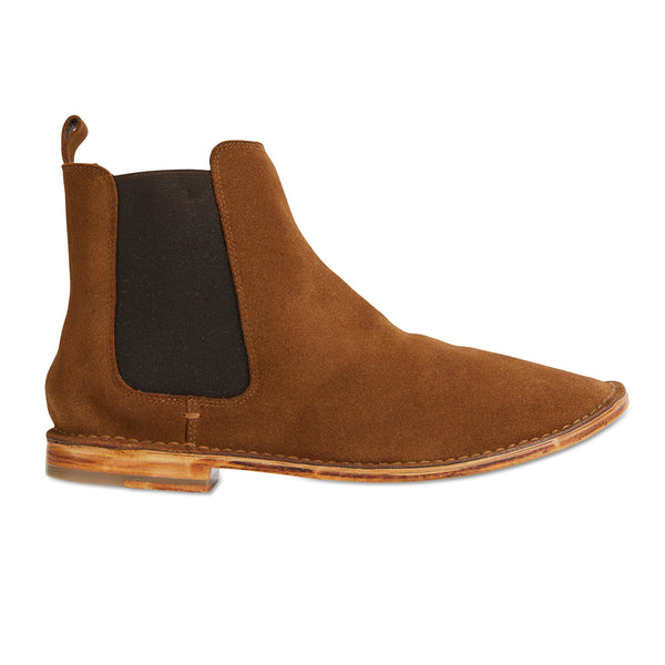 Bawley tan suede men boots