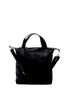 HUGO OFFICE TRAVEL TOTE - BLACK LEATHER