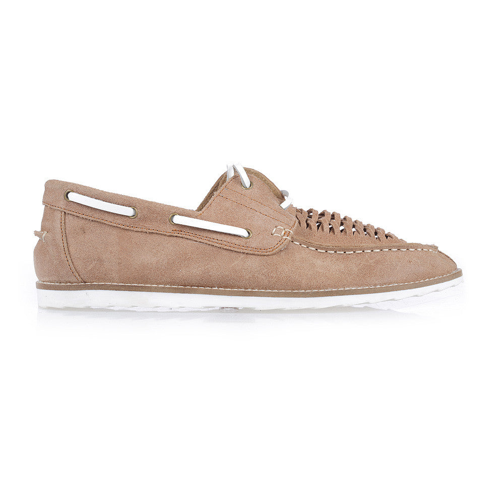 LOYALE II - TAN WASHED SUEDE
