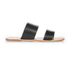 KORA - BLACK LEATHER SANDAL