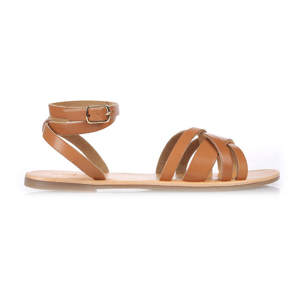 KAZ - TAN LEATHER SANDAL