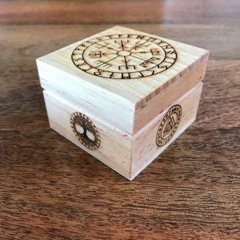 Rune stones and box - Large