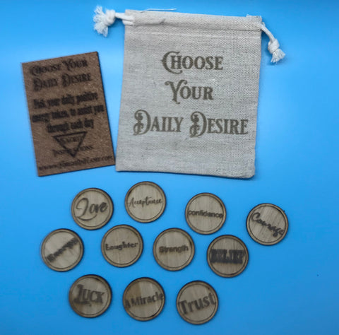 Copy of Self aware daily desire tokens-set 2
