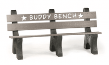 Load image into Gallery viewer, 6' Recycled Buddy Bench