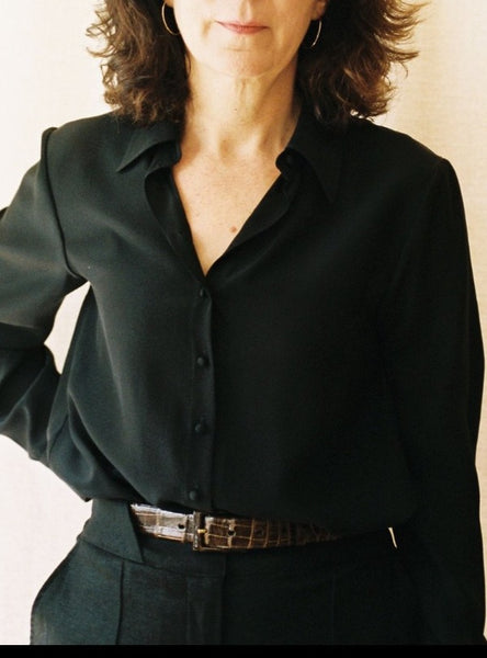 The Marie Blouse, close up