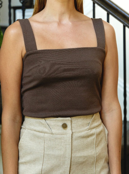 Recycled Knit Tank Ethically Made in Austin