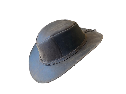 Indiana leather Hat