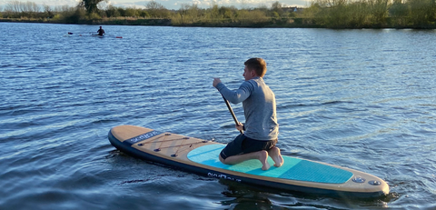 paddle boarding Chester