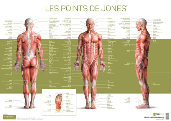 Poster Les points de Jones