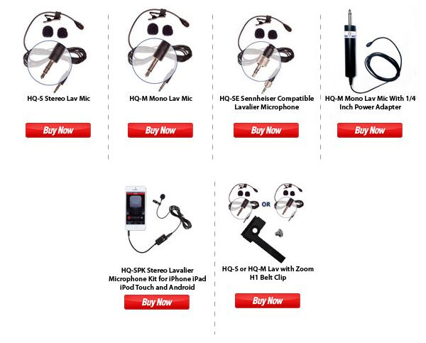 AspenMics Lavalier Microphones 20% off July 4th