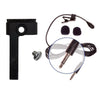 HQ-S Stereo or HQ-M Mono Lav with AspenMics Belt Clip for Portable Digital Audio Recorder