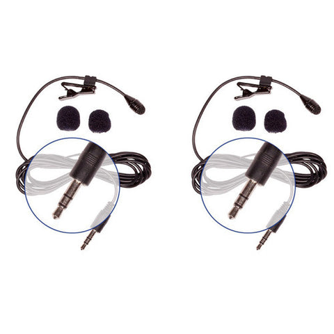 Picture of HQ-S - 2 Pack Stereo Lav Mics