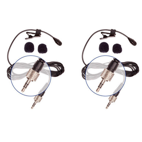 Picture of HQ-SE - 2 Pack Sennheiser Compatible Lav Mics
