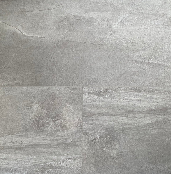 SIGNATURE SPC GRIS BETON 5MM 12X24