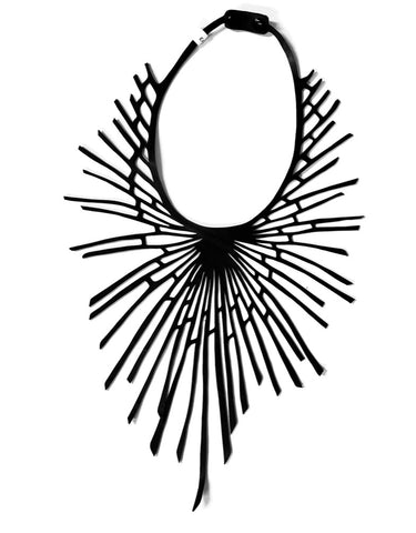 Solar Burst - (inner tube necklace) by Paguro