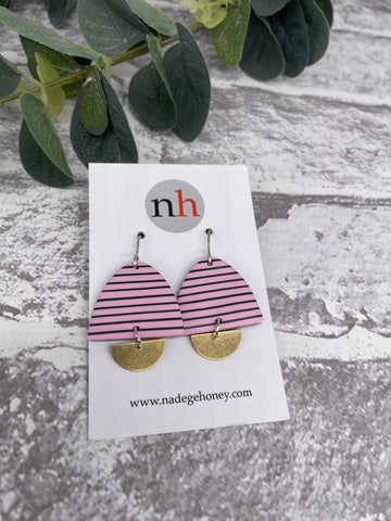 Breton Earrings 1 by Nadege Honey