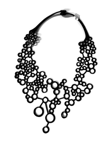 Octa - (inner tube necklace) by Paguro