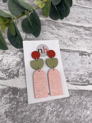 Botanica Earrings 4 by Nadege Honey