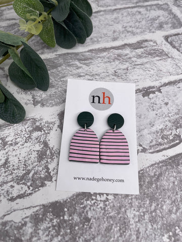 Breton Earrings 2 by Nadege Honey