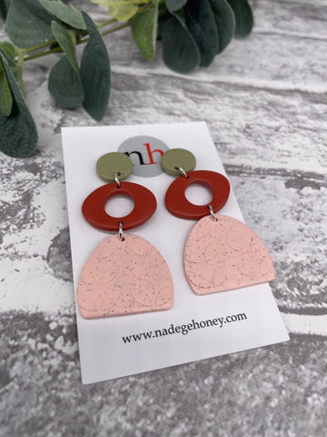 Botanica Earrings 3 by Nadege Honey