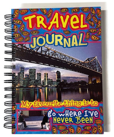 Travel Journal 6 by Hel Bent Books