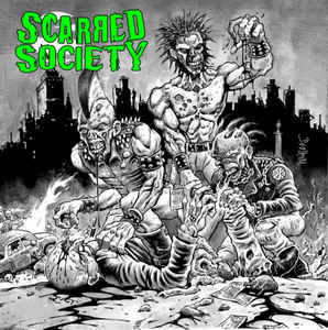 Scarred Society - Scarred Society CD