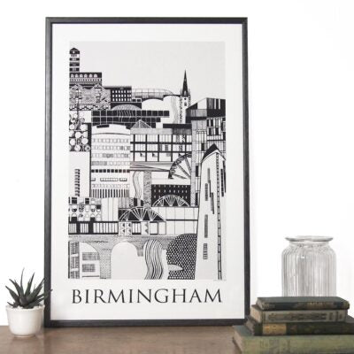 'Birmingham' print by Emma Hardicker