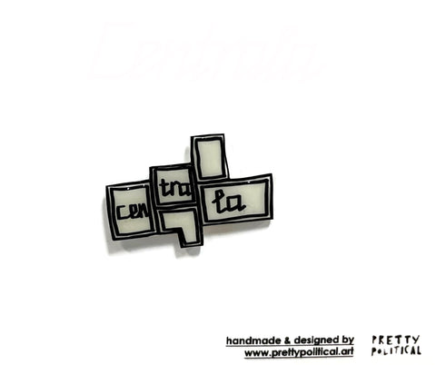 "Pin Badge ""Centrala"""