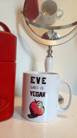 Mug 'Eve was a Vegan'