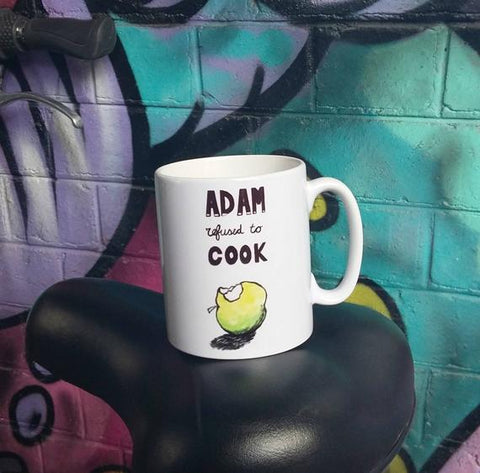 Mug 'Adam refused to cook'
